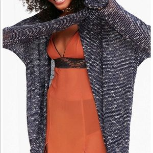 Urban Outfitters Brandy Cocoon Cardigan